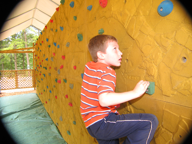 NEW for 2014 Rock Wall is FREE with Admission